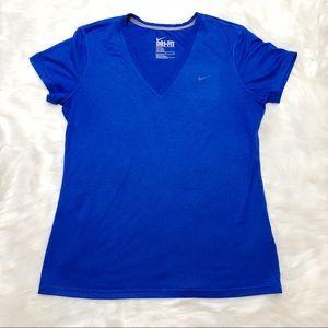 Nike Dri-Fit Legend V-Neck Short Sleeve T-Shirt